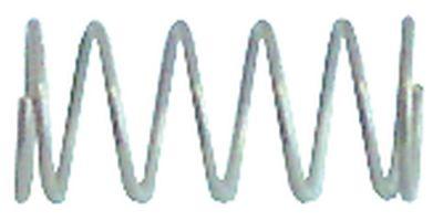 ελατήριο πίεσης ø 9.5mm Μ 20mm ø διατομής σύρματος 1mm