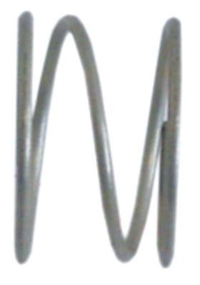 ελατήριο πίεσης ø 23.5mm Μ 14mm ø διατομής σύρματος 1.5mm