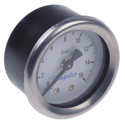 μανόμετρο ø 51,5mm εύρος πίεσης 0-16 bar MAGISTER  σπείρωμα 1/4