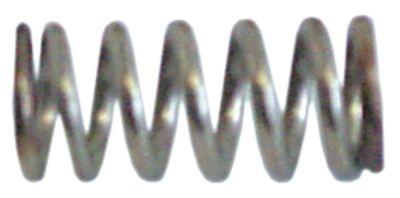 ελατήριο πίεσης ø 12,7mm Μ 29mm ø διατομής σύρματος 2,3mm
