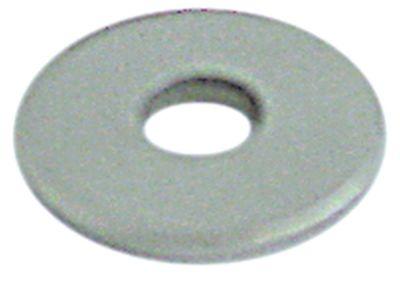 ροδέλες ø αναγν. 6.5mm ΕΞ. ø 18mm πάχος 1.5mm Ανοξείδωτο ατσάλι Ποσ. 1 τεμ.