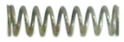 ελατήριο πίεσης ø 6mm Μ 21mm ø διατομής σύρματος 0,9mm