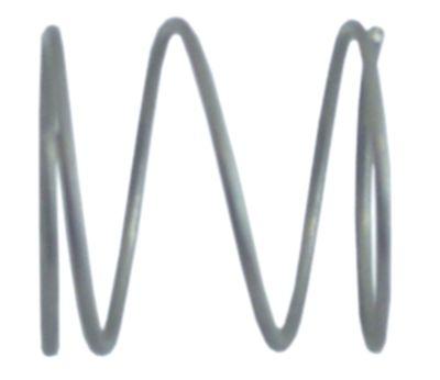 ελατήριο πίεσης ø 29,5mm Μ 29mm ø διατομής σύρματος 1,6mm