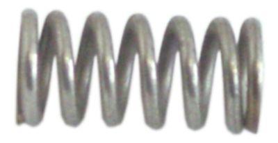 ελατήριο πίεσης ø 13mm Μ 27mm ø διατομής σύρματος 2.3mm