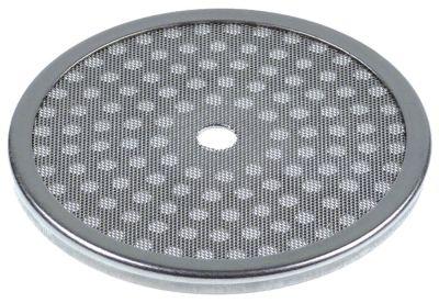 φίλτρο νερού ø 57mm H 4mm ø οπής 5,3mm