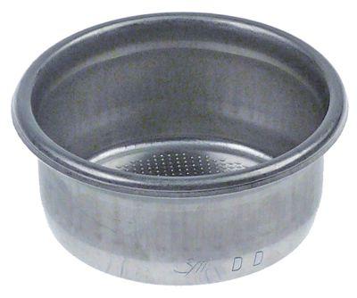 φίλτρο καφέ ø 66mm ø διάταξης στερέωσης 57mm H 26,4mm κύπελλα 2 ποσότητα καφέ 18g