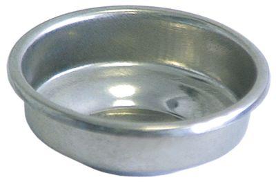 τυφλό φίλτρο ø 65,5mm ø διάταξης στερέωσης 56mm H 21,5mm