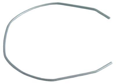 ασφάλεια κλείστρου Μ 70mm W 60mm ø διατομής σύρματος 1,1mm για βάση φίλτρου εσπρέσο