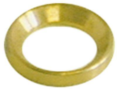 δαχτυλίδι πίεσης ø D1 18,5mm ø αναγν. 12,7mm πάχος 3mm ορείχαλκος