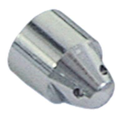 ακροφύσιο ατμού ø 12mm Μ 16mm 4 οπές εσωτερική ø 1,5mm επιχρωμιωμένος ορείχαλκος