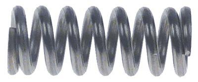 ελατήριο πίεσης ø 10,9mm Μ 31mm ø διατομής σύρματος 1,6mm