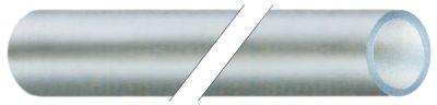 λάστιχο PVC ø αναγν. 6mm ΕΞ. ø 8mm Μ 10m πάχος 1mm Μέγ. Θ 60°C διαφανές