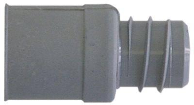σύνδεσμος αποχέτευσης ø σωλήνα 19mm εσωτερική ø ευθείας 29mm εξ. ø ευθείας 35mm
