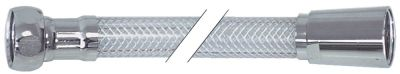 σωλήνας ψεκασμού συνδέσεις 1/2″  Μ 2000mm PVC  πίεση λειτ. 10bar πίεση διάρ. 30bar Μέγ. Θ 60°C