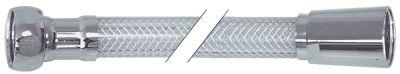 σωλήνας ψεκασμού συνδέσεις 1/2″  Μ 2600mm PVC  πίεση λειτ. 10bar πίεση διάρ. 30bar Μέγ. Θ 60°C