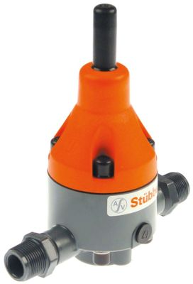 βαλβίδα μείωσης πίεσης ASV Stübbe  σειρά DMV755  σύνδεσμος 3/4″  εύρος ρύθμισης 1-9bar p max 10bar