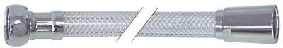 σωλήνας ψεκασμού συνδέσεις 1/2″  Μ 1500mm PVC  πίεση λειτ. 10bar πίεση διάρ. 30bar Μέγ. Θ 60°C