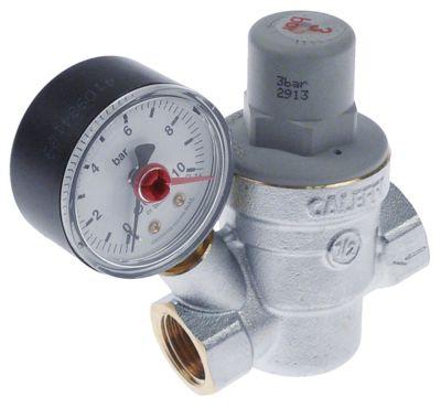 βαλβίδα μείωσης πίεσης Caleffi  σειρά 5332 σύνδεσμος 1/2″  προεπιλεγμένη ρύθμιση 3bar