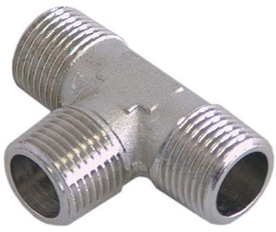 Τ σύνδεσης σπείρωμα 1/2″ εξωτερικό σπείρωμα  - 1/2″ εξωτερικό σπείρωμα  - 1/2″ εξωτερικό σπείρωμα