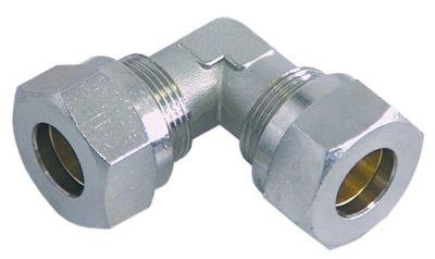 σύνδεσμος σωλήνα βιδωτός σπείρωμα 5/8″  ø σωλήνα 15mm ανοξείδωτος χάλυβας