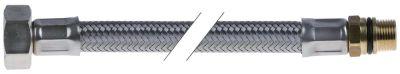 σωλήνας εύκαμπτος Ανοξείδωτο ατσάλι DN12  συνδέσεις 3/4″ - 3/8″  Μ 700mm πίεση λειτ. 10bar