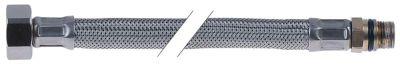 σωλήνας εύκαμπτος Ανοξείδωτο ατσάλι DN12  συνδέσεις 3/4″ - 3/8″  Μ 1000mm πίεση λειτ. 10bar