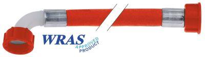 σωλήνας παροχής PVC  ευθύ-καμπύλο DN12  συνδέσεις 3/4
