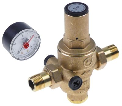 βαλβίδα μείωσης πίεσης Caleffi  σειρά 5360 σύνδεσμος 1/2″  προεπιλεγμένη ρύθμιση 3bar