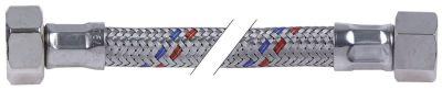 σωλήνας εύκαμπτος πλεξούδα ανοξείδωτου χάλυβα ευθύ-ευθύ DN10  συνδέσεις 3/8