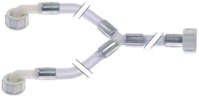 σωλήνας παροχής DN10  συνδέσεις 3/4″  Μ 1000+250/250 mm πίεση λειτ. 10bar Μέγ. Θ 90°C