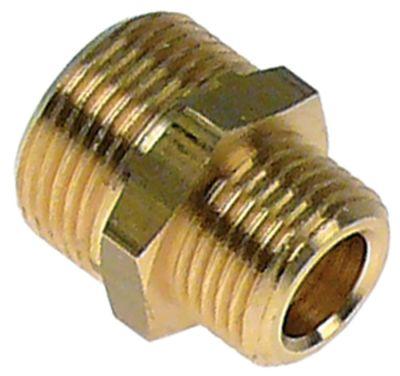 διπλό νίπελ ορείχαλκος σπείρωμα 1/2″ - 3/4″  Ποσ. 1 τεμ.
