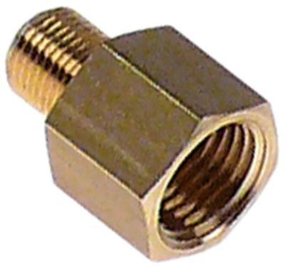 μειωτήρας σπείρωμα 1/8″ εξωτερικό σπείρωμα - 1/4″ εσωτερικό σπείρωμα