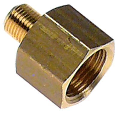 μειωτήρας σπείρωμα 3/8″ εσωτερικό σπείρωμα - 1/8″ εξωτερικό σπείρωμα
