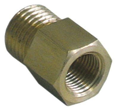 μειωτήρας σπείρωμα 1/4″ εξωτερικό σπείρωμα - 1/8″ εσωτερικό σπείρωμα