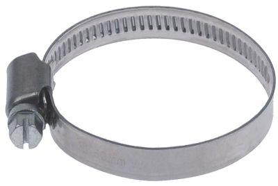 σφικτήρας σωλήνα CNS W4 ø 32-50 mm πλάτος 9mm Ποσ. 5 τεμ. DIN 3017