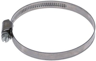 σφικτήρας σωλήνα CNS W4 ø 60-80 mm πλάτος 9mm Ποσ. 5 τεμ. DIN 3017