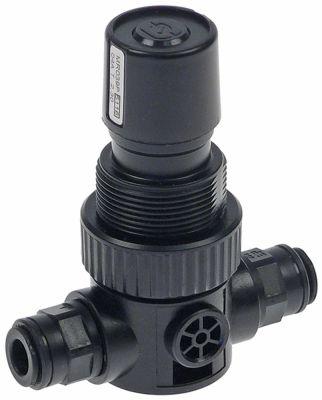 βαλβίδα μείωσης πίεσης σύνδεσμος John Guest 8mm  p max 2,30bar πλαστικό μαύρο