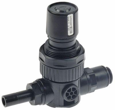 βαλβίδα μείωσης πίεσης σύνδεσμος John Guest 10mm  προεπιλεγμένη ρύθμιση 2,3bar p max  -bar πλαστικό