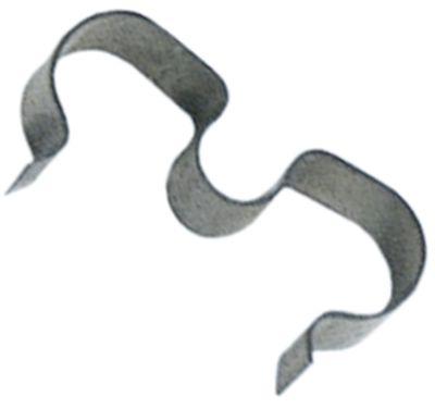 έλασμα αισθητήρα για ø σωλήνα 2x8,5 mm για ø αισθητηρίου 6mm