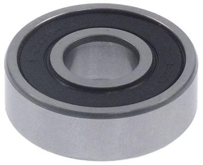 ρουλεμάν τύπος 6201-2RS  ø άξονα 12mm ΕΞ. ø 32mm W 10mm ρουλεμάν με βαθύ αυλάκι