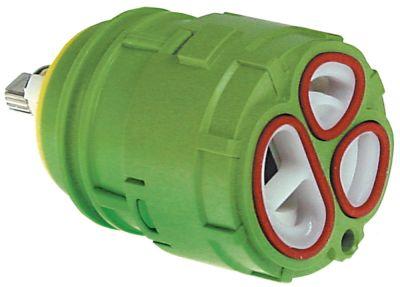 δοχείο κεραμικό ø D1 46mm ø D2 35mm H1 46,5mm H2 54,5mm H3 76mm κατάλληλο για KWC