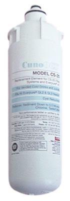 φίλτρο νερού CUNO  τύπος CS-25  χωρητικότητα 7571l παροχή 228l/h μέγ. p λειτουργίας 8,6bar