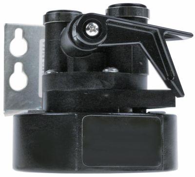 κεφαλή φίλτρου EVERPURE  τύπος QL3  σύνδεσμος με βαλβίδα διακοπής ø 96mm H 90mm