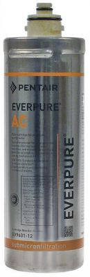 φίλτρο νερού EVERPURE  τύπος AC  χωρητικότητα 2840l παροχή 114l/h