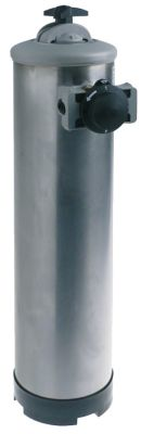 αποσκληρυντής μη αυτόματο με βαλβίδα παράκαμψης χωρητικότητα δοχείου 20l ποσότητα ρητίνης 14l