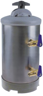αποσκληρυντής μη αυτόματο με 2 βαλβίδες χωρητικότητα δοχείου 8l ποσότητα ρητίνης 5.6l