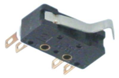 μικροδιακόπτης με μοχλό 250V 1NO/1NC  σύνδεσμος ένωση συγκόλλησης