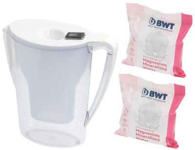 κανάτα με φίλτρο νερού 2,7l τύπος longlifeMg2