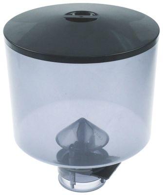 δοχείο κόκκων καφέ με καπάκι ø 185mm H 211mm ø έδρας 65mm