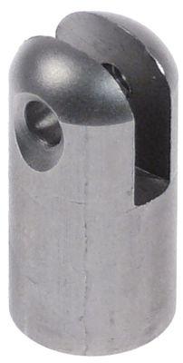 σύνδεσμος για ελατήριο πίεσης αερίου ø 14mm inox  Μ 28mm σειρά AUTOMATIC